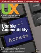 UX Magazine cover